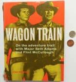 Wagon Train Annual 1959 TV cowboys Seth Adams Flint McCullough childrens book